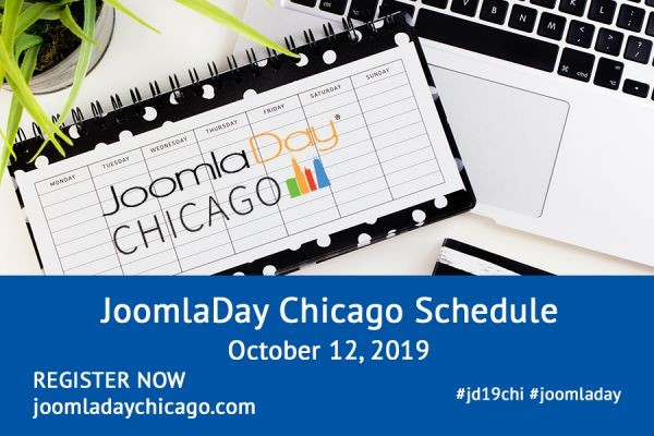 JoomlaDay Chicago 2019 Schedule Posted