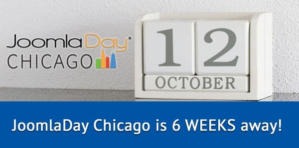 6 Weeks to JoomlaDay Chicago