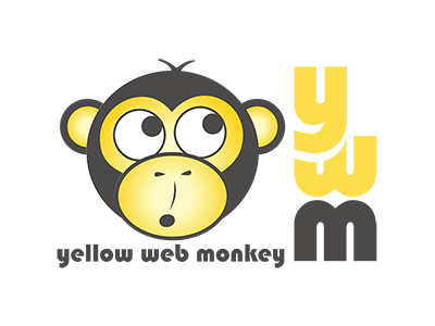 Gold Sponsor Yellow Web Monkey