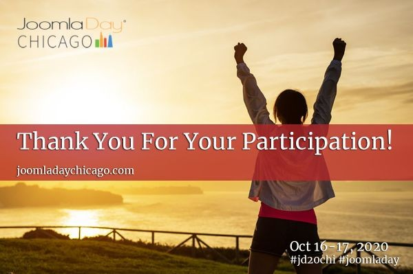 Thank You For Joining Us at JoomlaDay Chicago