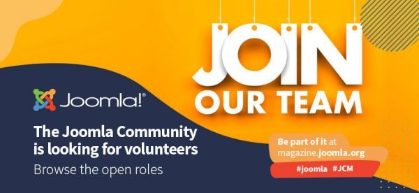 Community Openings: Joomla wants you!